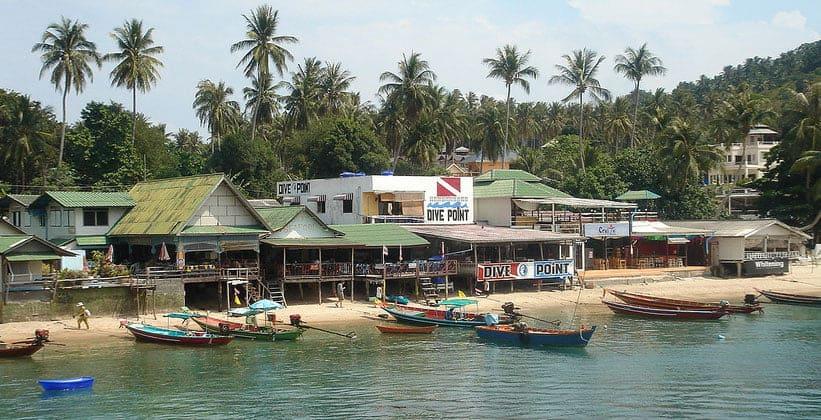 Деревня Мэхат на острове Ко Тао