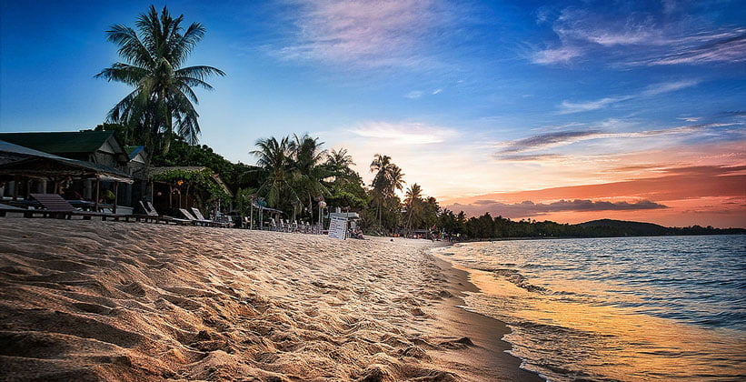 Пляж Мэнам на острове Ко Самуи