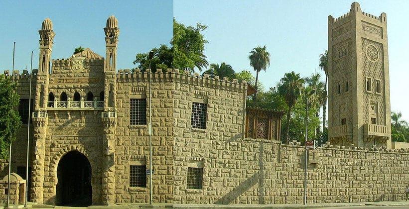 Дворец Маниал на острове Рода