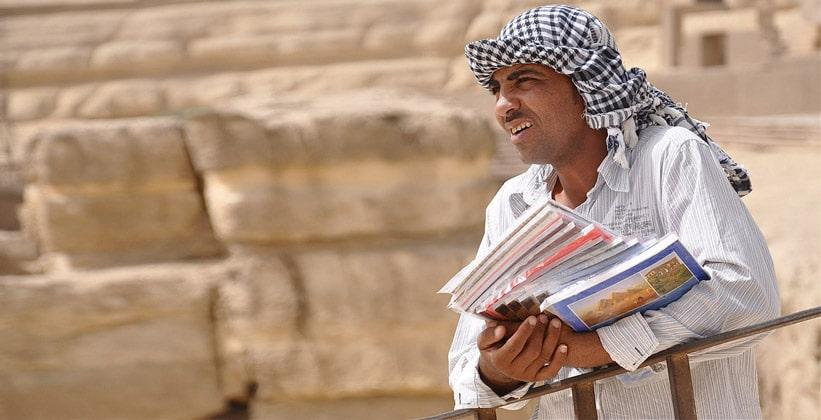 Зазывалы в Каире
