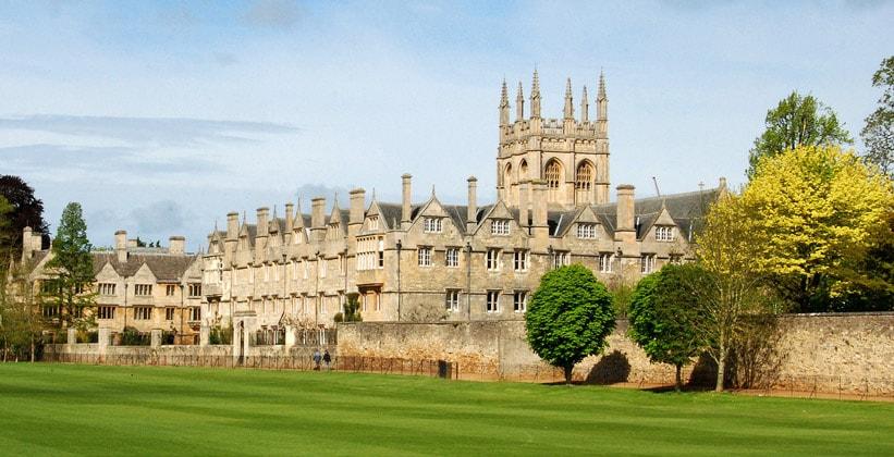 Колледж Мертон в Оксфорде