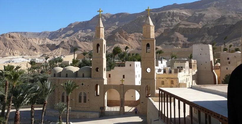 Монастырь Святого Антония в Египте
