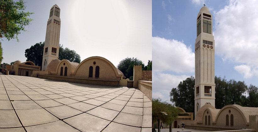Монастырь Дейр Абу Макар в Египте
