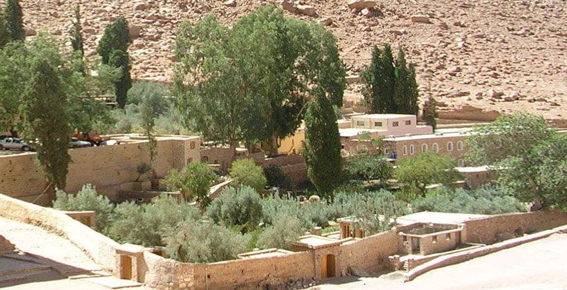 Сад монастыря Святой Екатерины