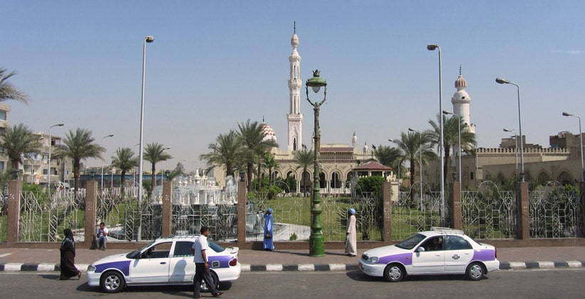 Мечеть города Кена в Египте
