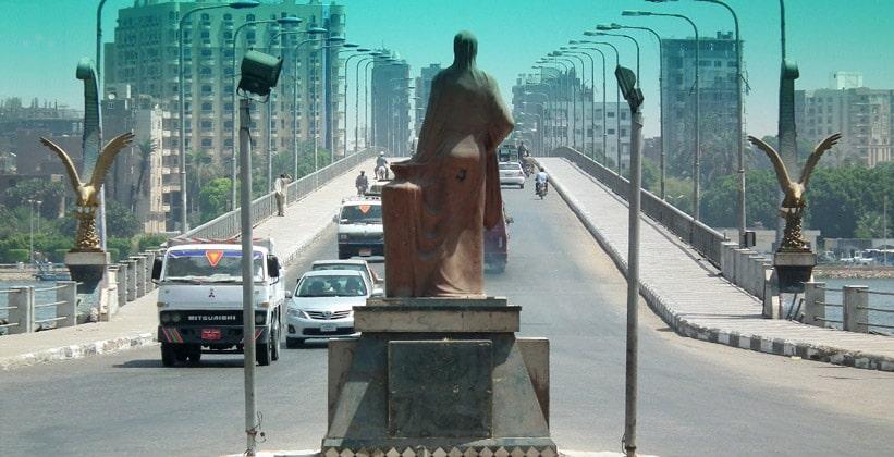 Мост через Нил в Кене