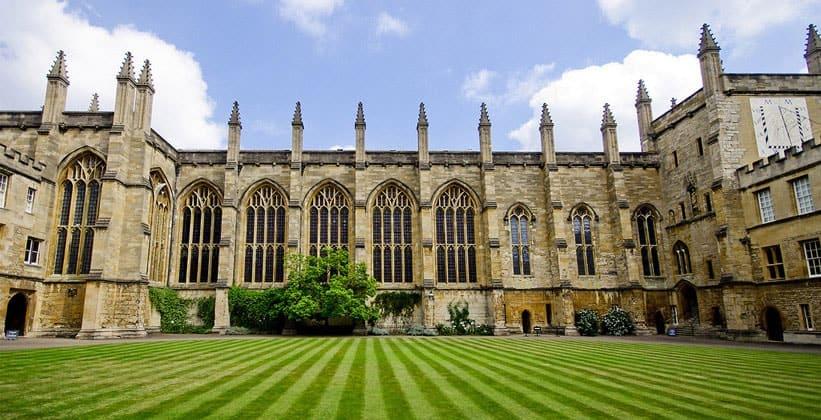 Новый колледж в Оксфорде