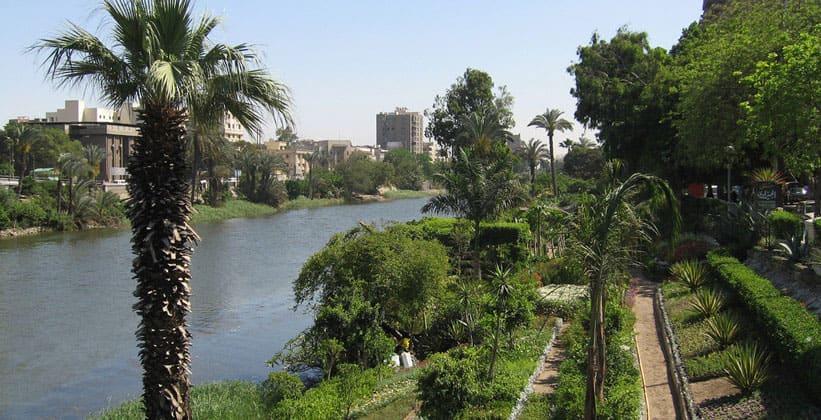 Вид Нила с острова Рода