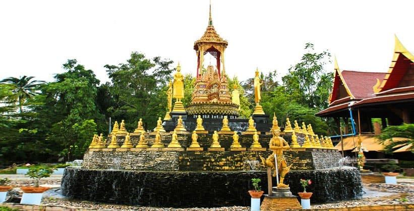 Пагода в Самут Сонгкрам