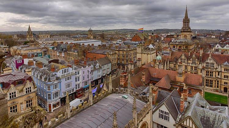 Панорама Оксфорда