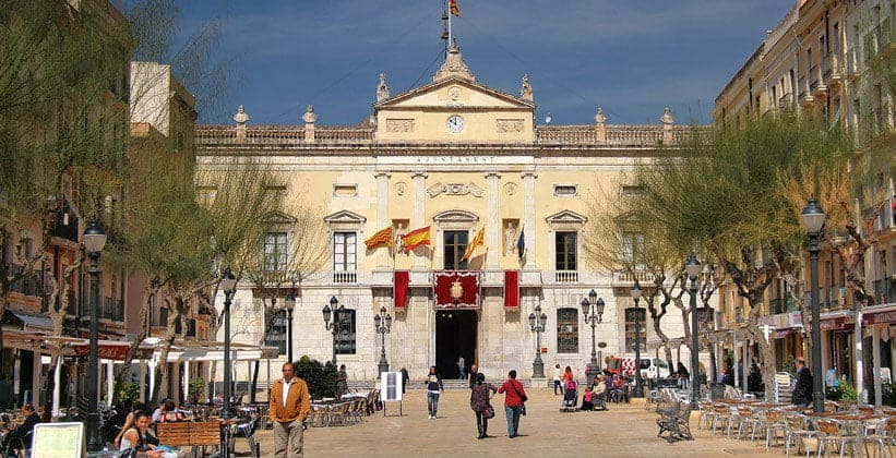 Площадь Фонтанов в Таррагоне