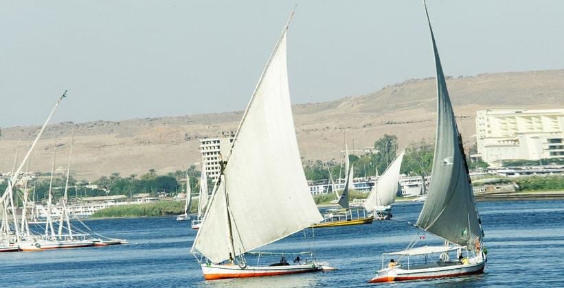 Плавание на фелуках по Нилу