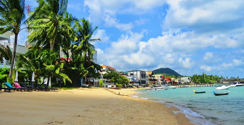 Пляж Бопхут на острове Ко Самуи