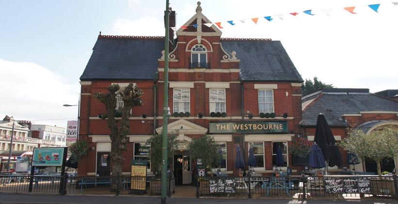 Паб The Westbourne в городе Борнмут