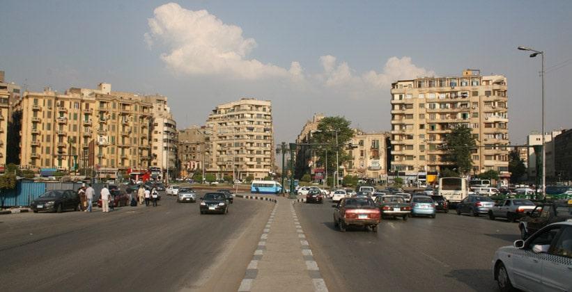 Улица Каср эль-Нил в Каире