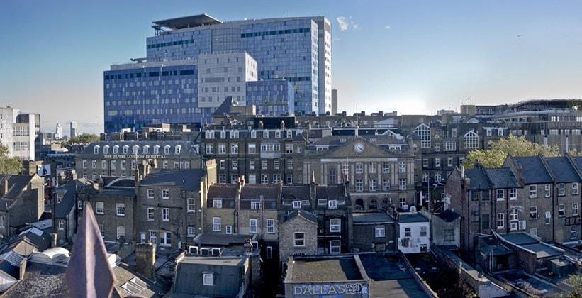 Королевский госпиталь Лондона (район Уайтчепел)