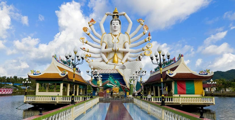 Статуя Будды на острове Ко Самуи