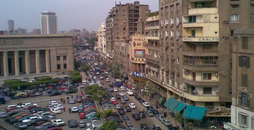 Улица 26 Июля в Каире