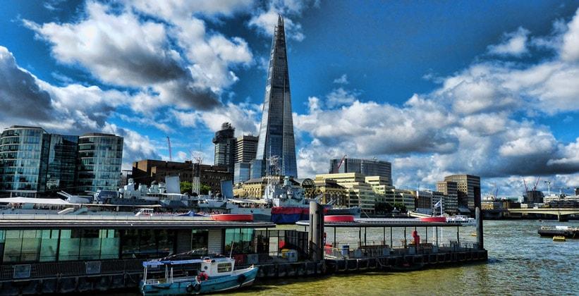Небоскрёб The Shard (Осколок) в Лондоне