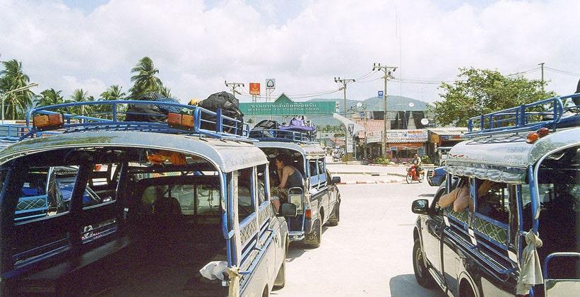Городок Тхонг Сала на острове Ко Пханган