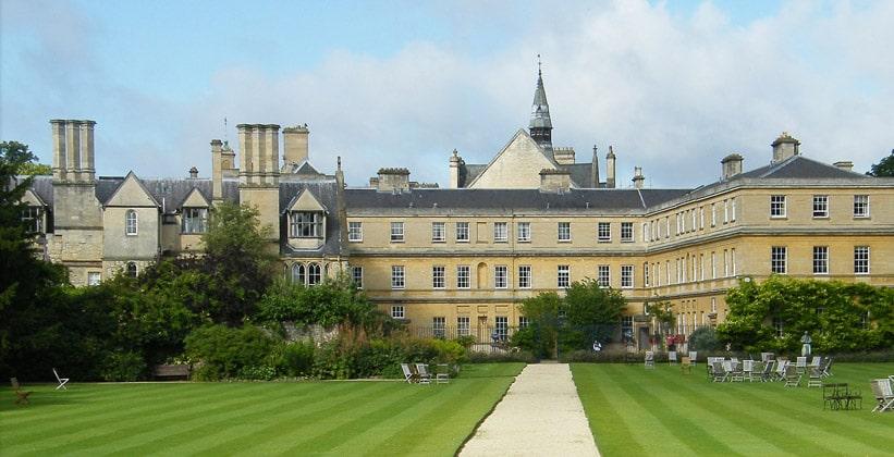 Колледж Тринити в Оксфорде