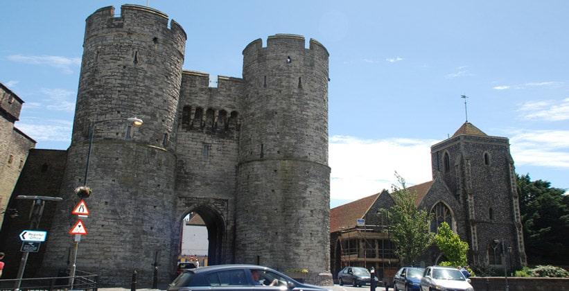 Западные ворота Кентербери