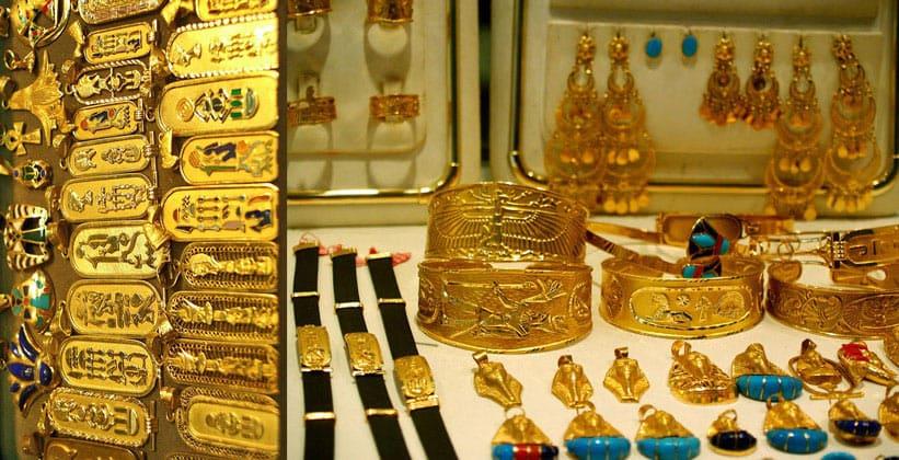 Золотые изделия в Каире