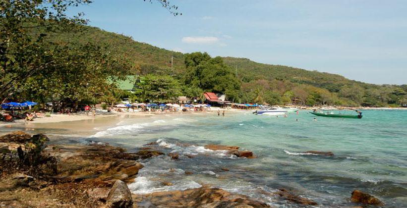 Пляж Ао Хин Кок на острове Ко Самет