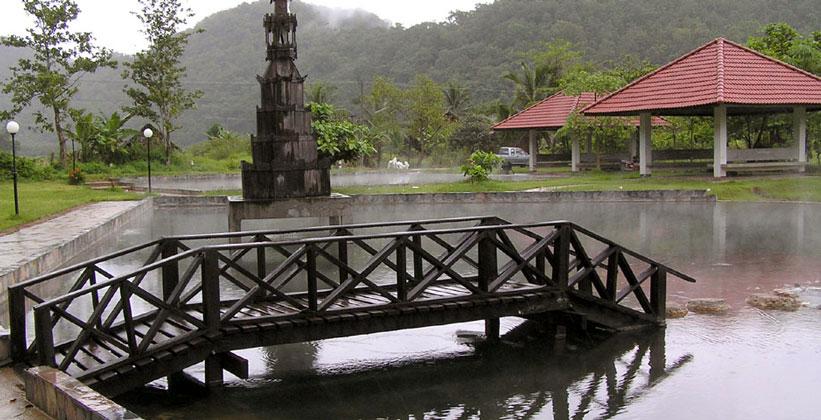 Горячие источники Бан Пха Бонг в Таиланде