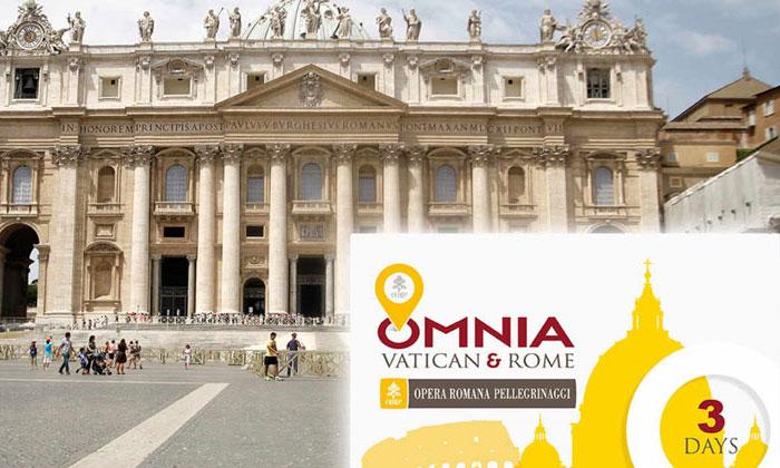 Экскурсионно-транспортная карта Omnia Vatican and Rome