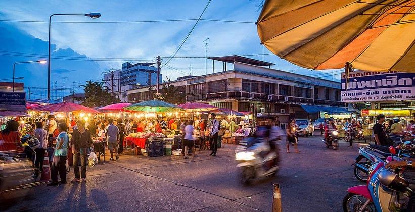 Продуктовый рынок в Пхитсанулоке