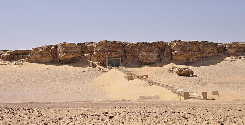 Гробницы в Тель-эль-Амарне