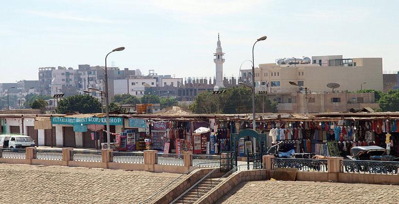 Город Идфу в Египте
