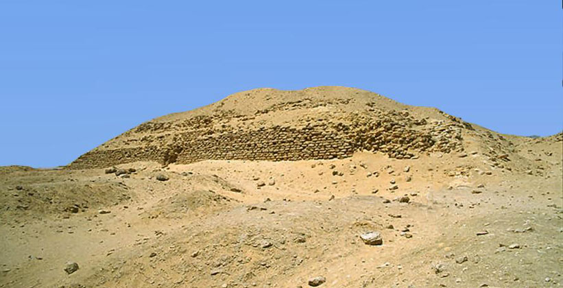 Пирамида Хабы в Завиет эль-Ариан