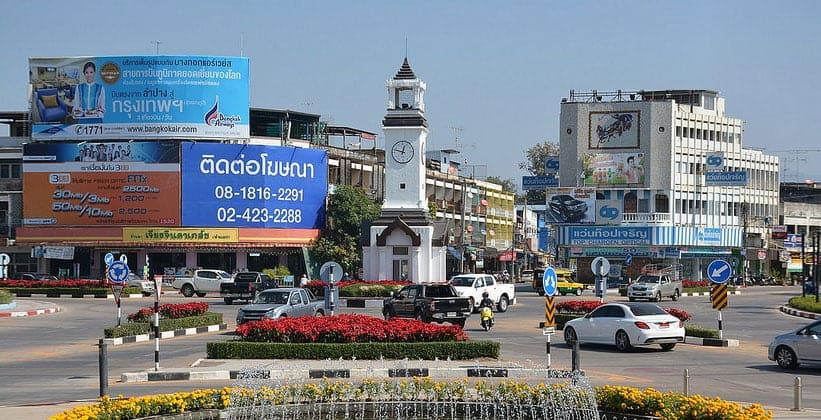 Таиландский город Лампанг