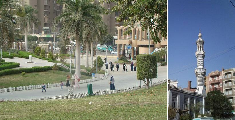 Египетский город Маллави