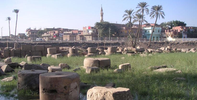 Древнеегипетский город Мемфис