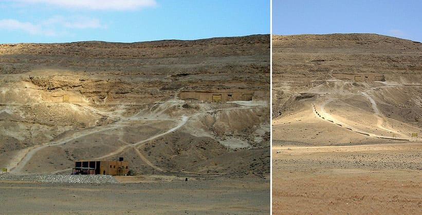 Северный некрополь (гробницы знати) в Тель-эль-Амарне