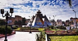 Египетский город Сохаг (площадь Оперы)