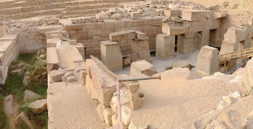 Археологический комплекс Осирион в Абидосе