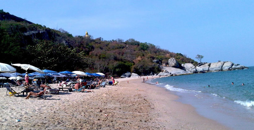 Пляж Пак Нам Пран в Таиланде