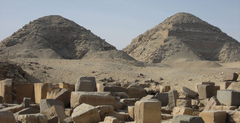 Пирамида Ниусерра и Нефериркара в Абусире