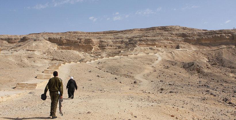 Царская гробница в Тель-эль-Амарне