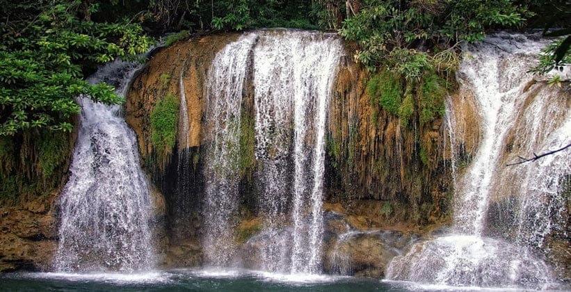 Водопад Сай Йок Ной в Таиланде