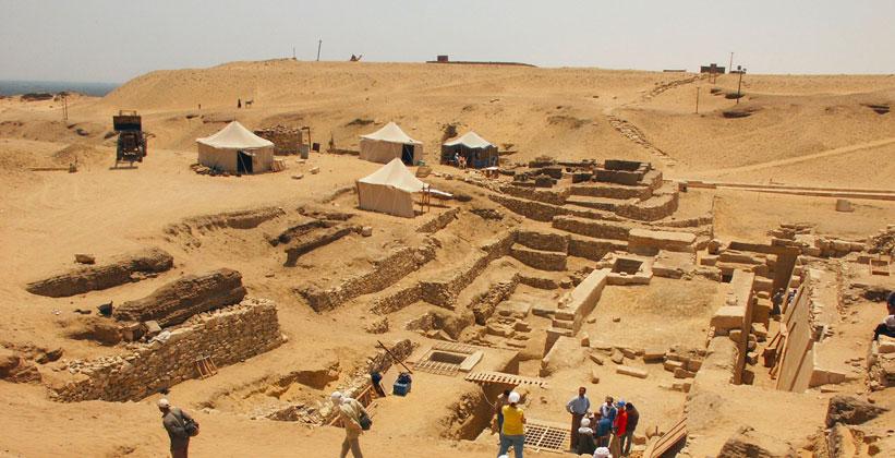 Город мёртвых в Саккаре