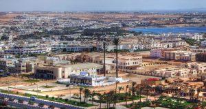 Курортный город Шарм-эль-Шейх в Египте