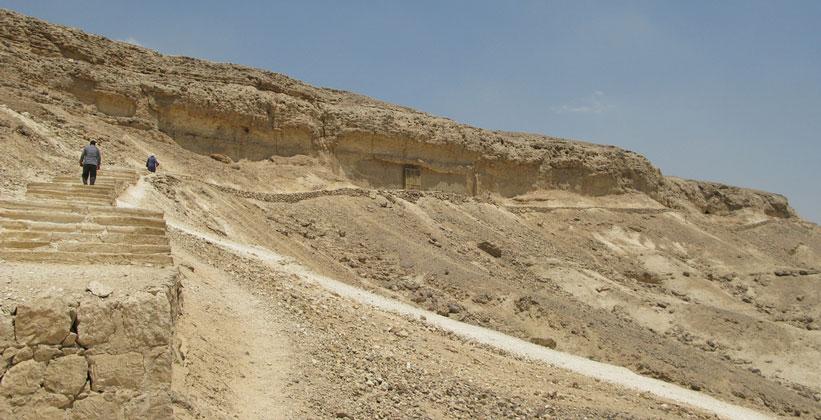 Южный некрополь (гробницы знати) в Тель-эль-Амарне
