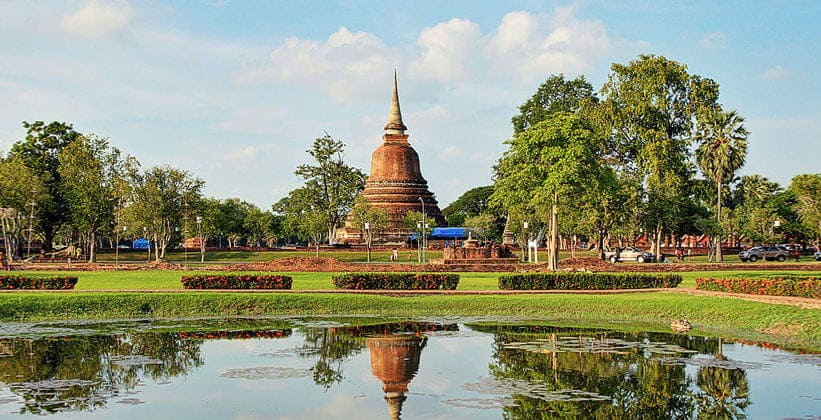 Исторический парк Сукхотай (Муанг Као Сукхотай)