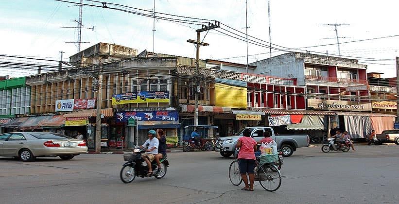 Таиландский город Сукхотай