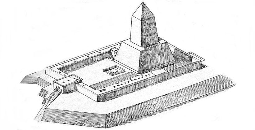 Храм Солнца в Абу-Гораб